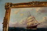 French Marine Painting by Malfroy thumbnail 6