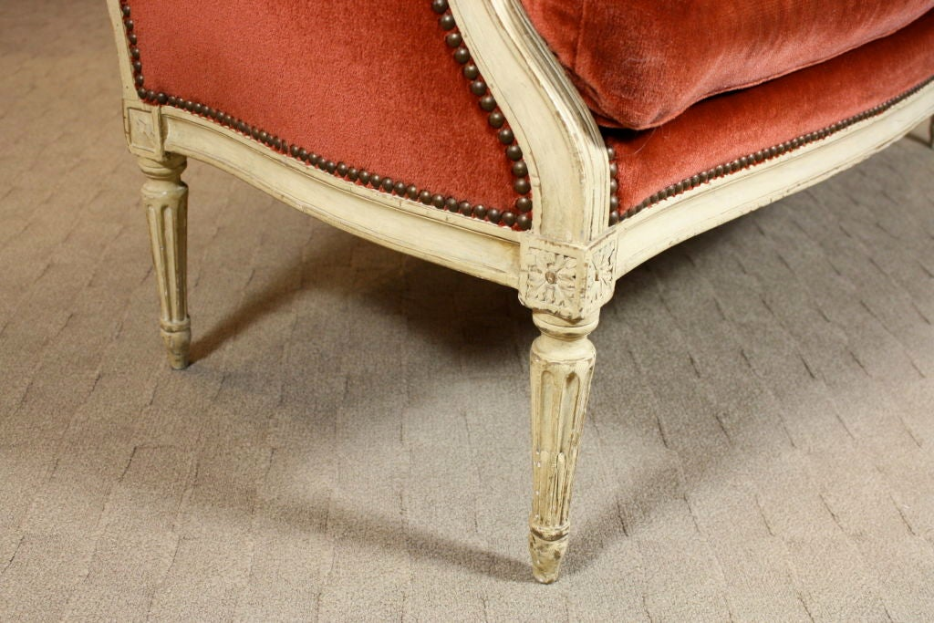 French Painted Louis XVI Period Canape 10