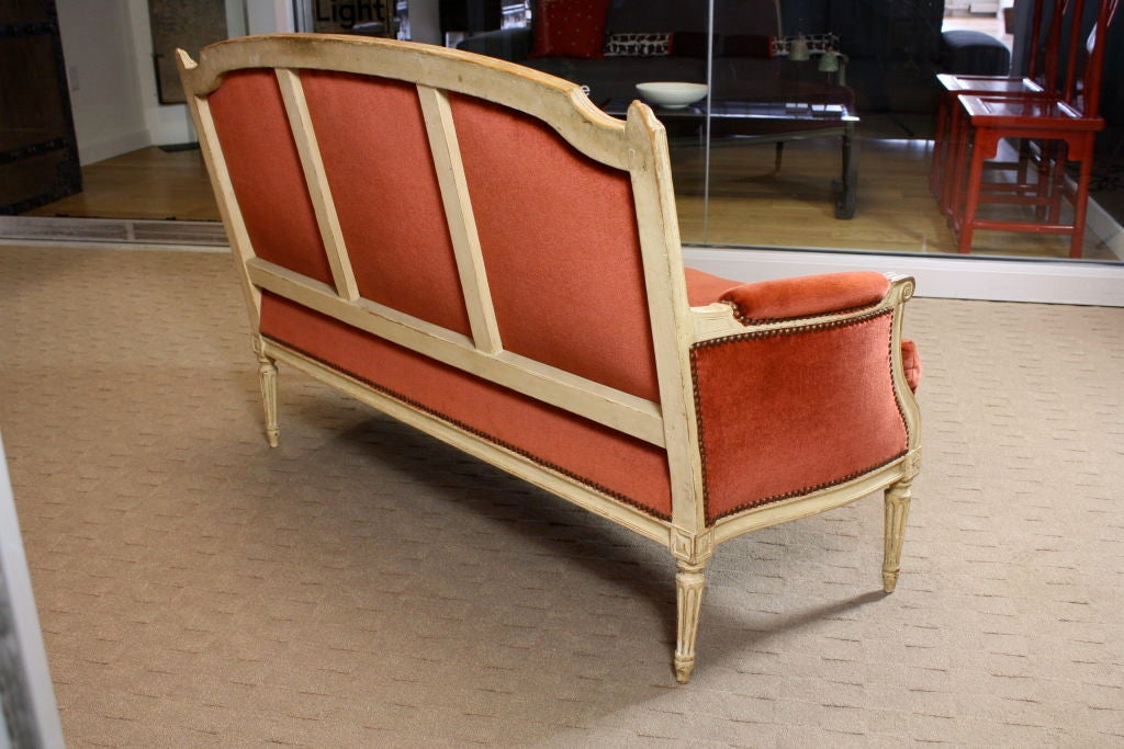 French Painted Louis XVI Period Canape 3