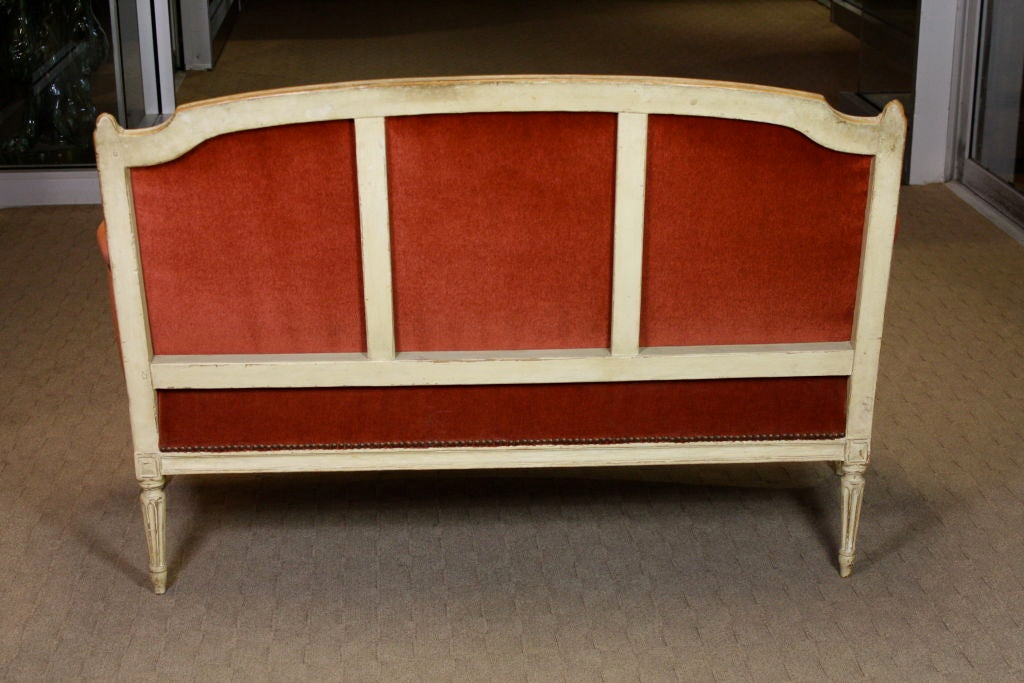 French Painted Louis XVI Period Canape 4