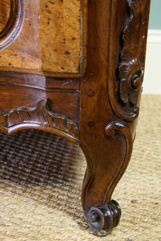 Walnut French Louis XIV Period Commode For Sale