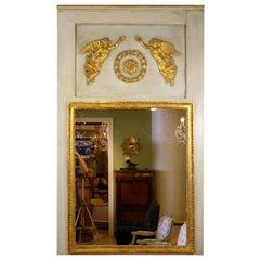 French Directoire Period Trumeau Mirror