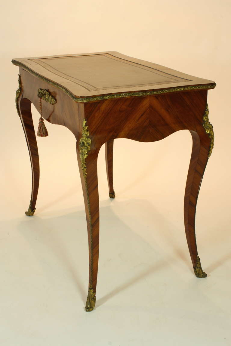 French Louis Xv Style Las Writing Desk For 1