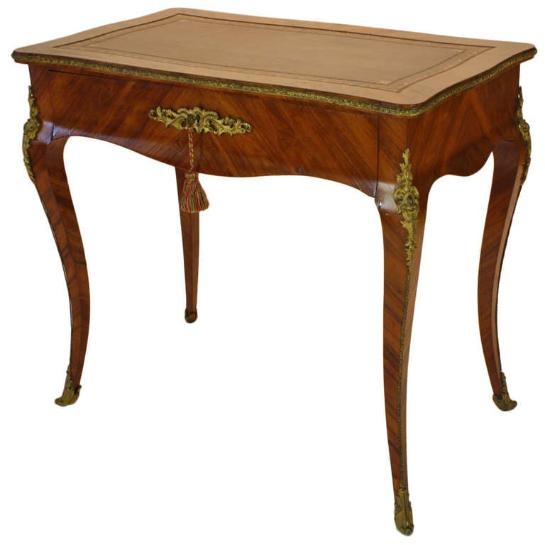 Ladies Writing Desk ~ French louis xv style ladies writing desk for sale at stdibs