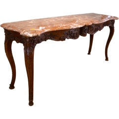 Extraordinary French Regence Style Console Table
