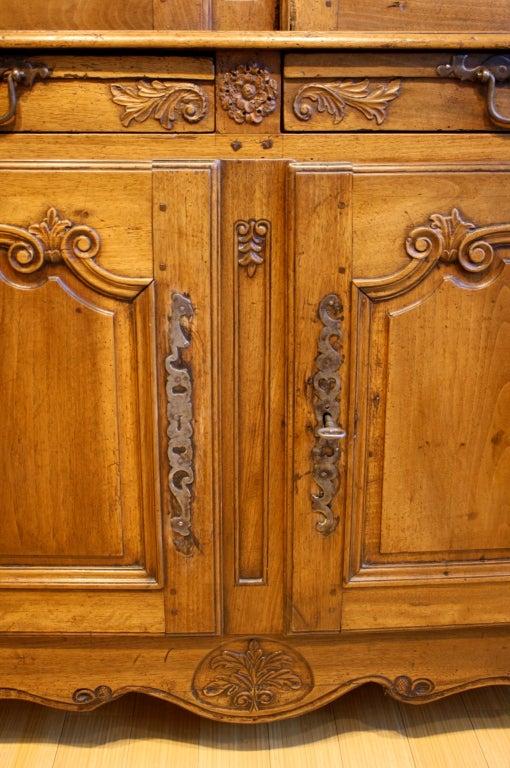 18th Century Louis XV Period Buffet à Deux Corps For Sale