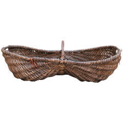 French Grape Pickers Basket