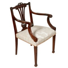 Georgian Style Dining Chairs-set of eight