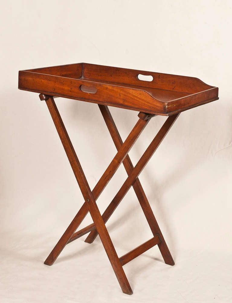 Butleru0027s Tray Table On Stand 2