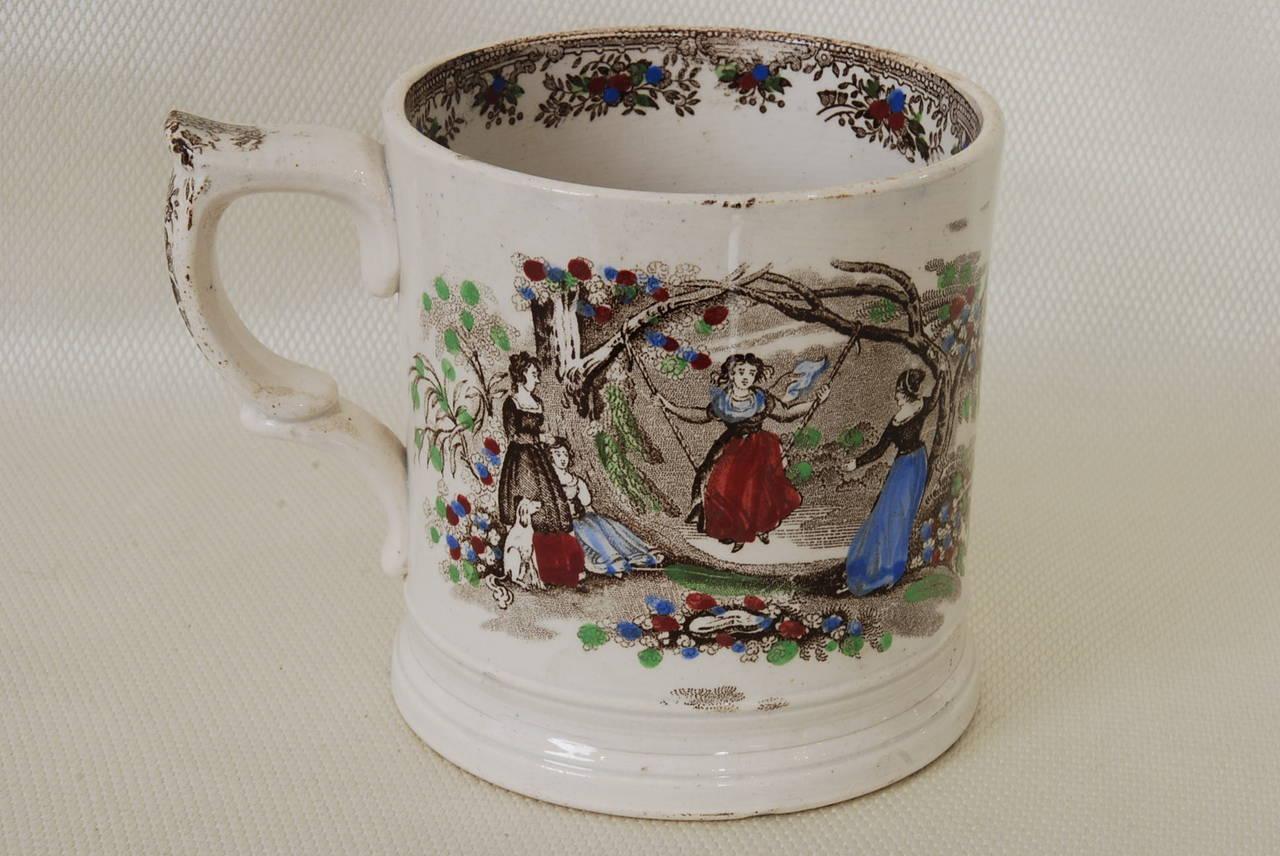 Antique Staffordshire Frog Mug For Sale At 1stdibs