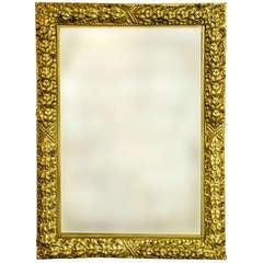 Gilt Neo-Classical Mirror