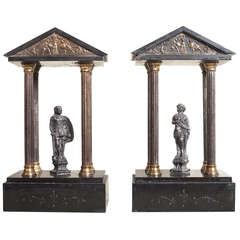 Pair of Grand Tour Temples
