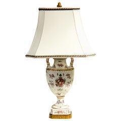 Antique Samson Urn Lamp