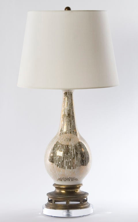 Metallic Drip Lamp image 2