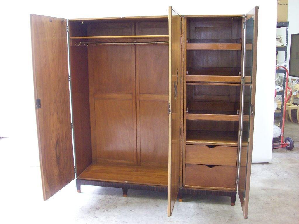 art deco dressing cabinet at 1stdibs. Black Bedroom Furniture Sets. Home Design Ideas