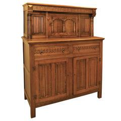 "Antique Oak ""Court"" Cupboard"