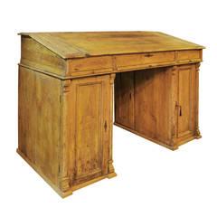 Pine Clerk's Desk