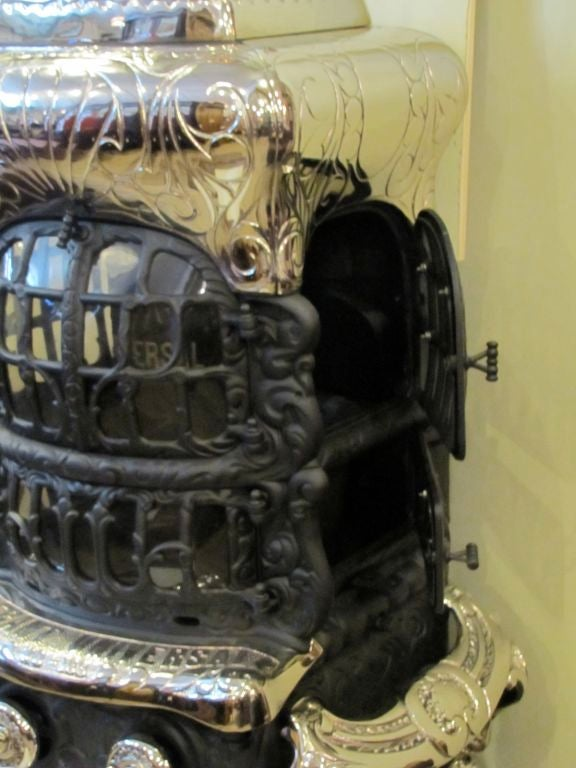 Cast Iron Parlor Stove For Sale At 1stdibs