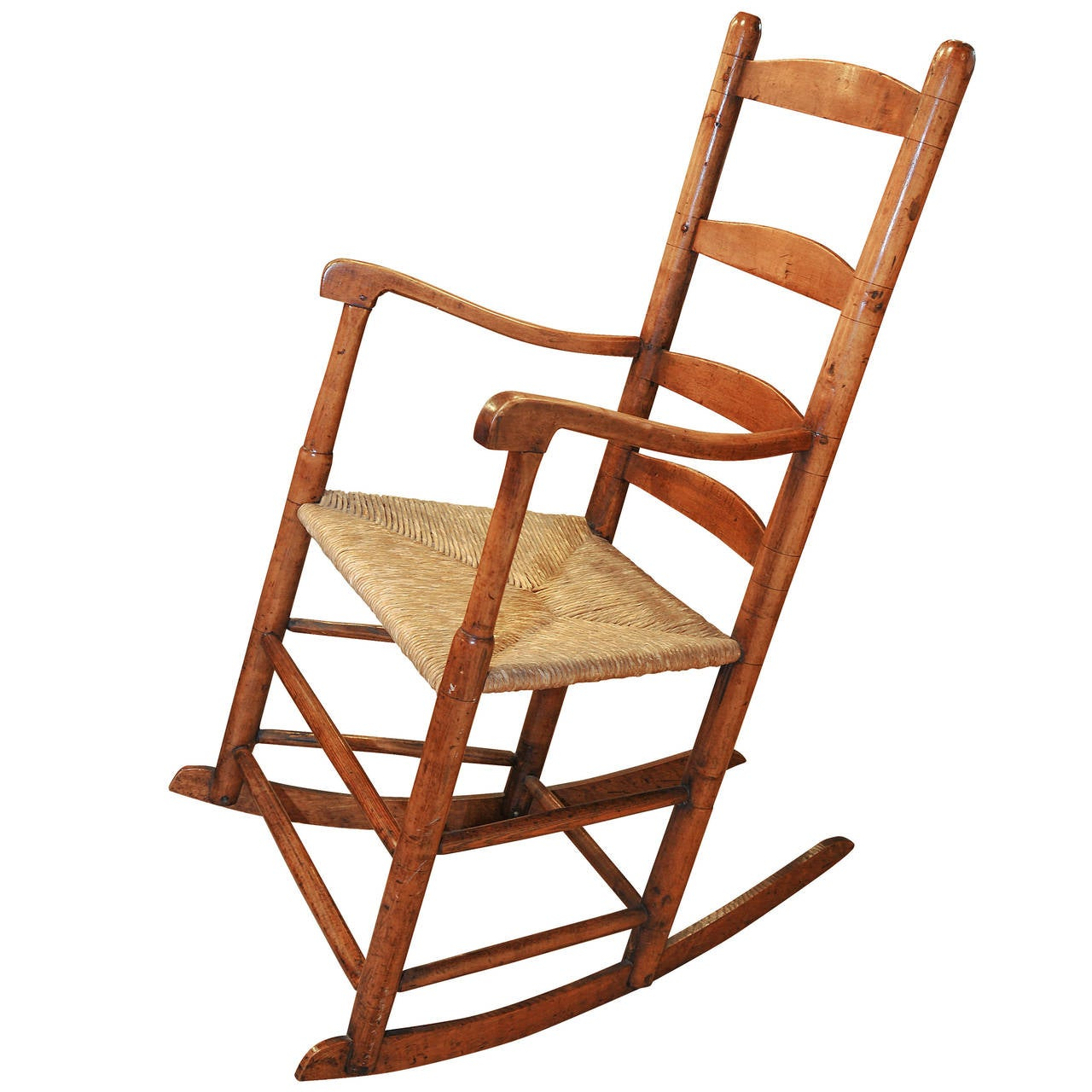 Early Rocking Chair For Sale at 1stdibs