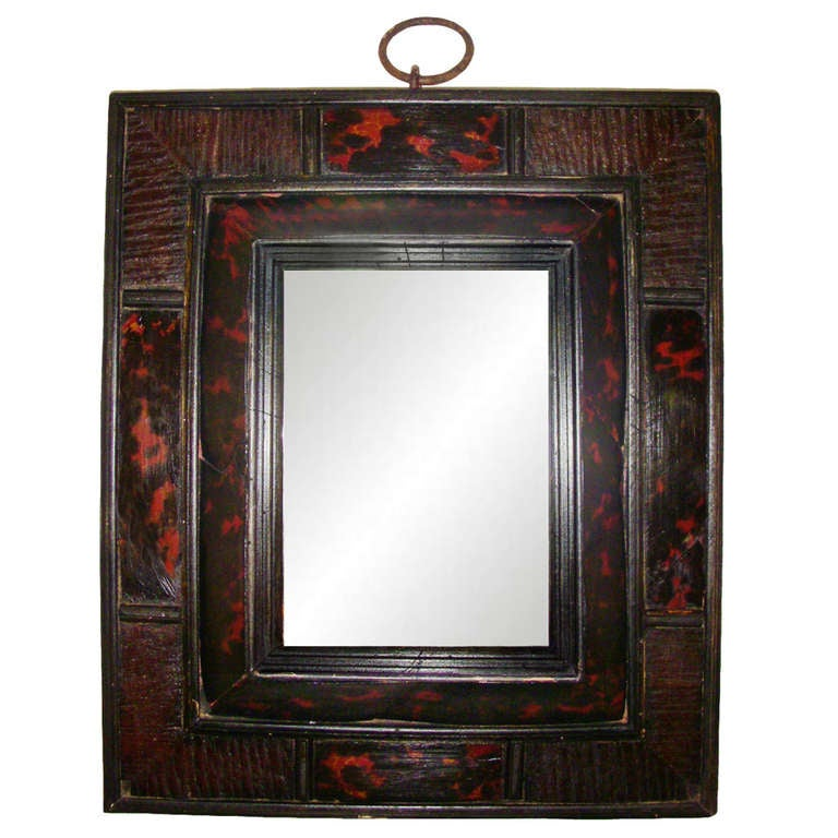 17th Century Mirrors Of 17th Century Tortoise Shell Mirror At 1stdibs