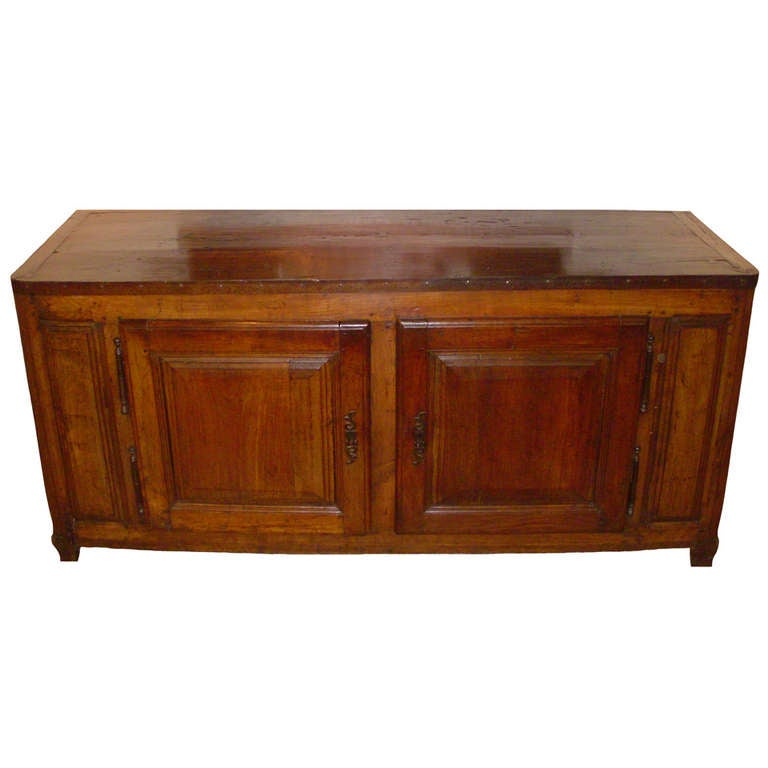 Th century french cherry wood buffet at stdibs