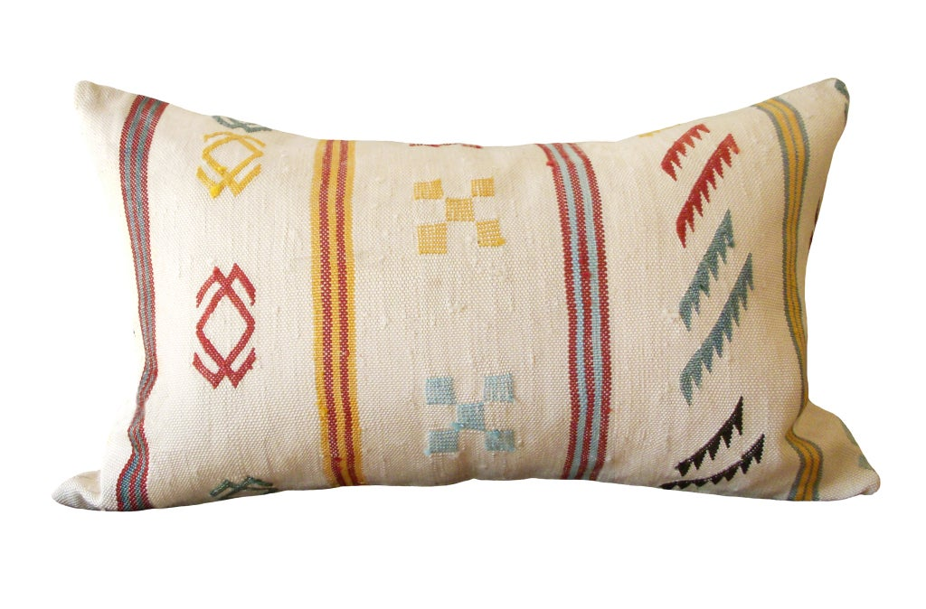 Mid Century Style Pillows : Mid-Century Moroccan Pillow at 1stdibs