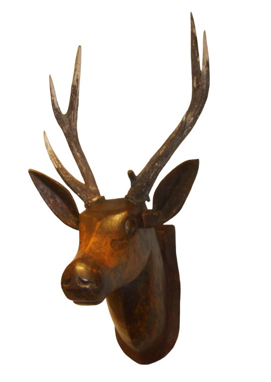 19th Century French Deer Head image 2