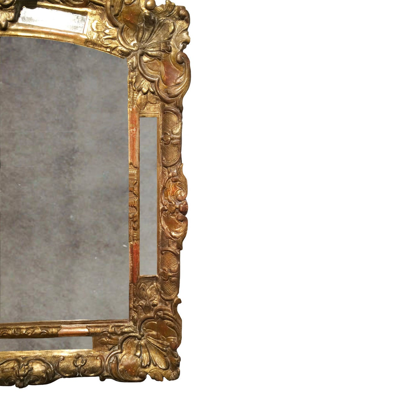 Early 18th Century Regence Gilt Mirror At 1stdibs