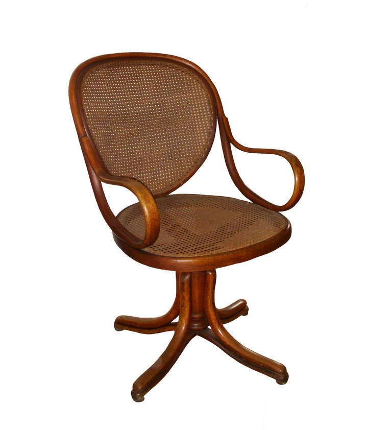 Bentwood Swivel Chair