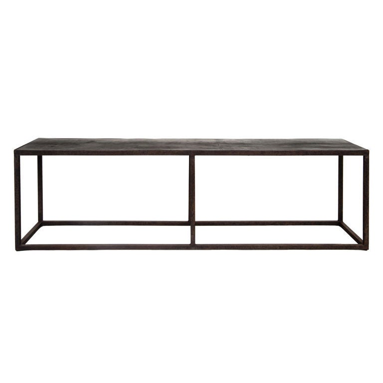 Axel vervoordt style coffee table at 1stdibs for Axel vervoordt furniture