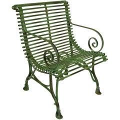 French Luxemborg Garden Arm Chair