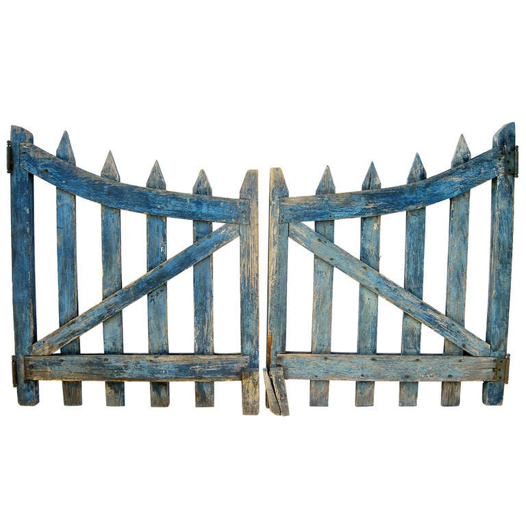 """""""Pure"""" Blue Fence At 1stdibs"""