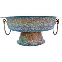 Vintage Copper Vessel or Urn