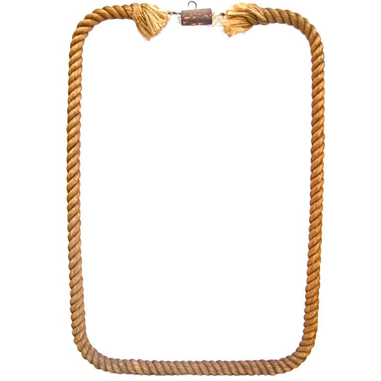 twisted rope frame at 1stdibs