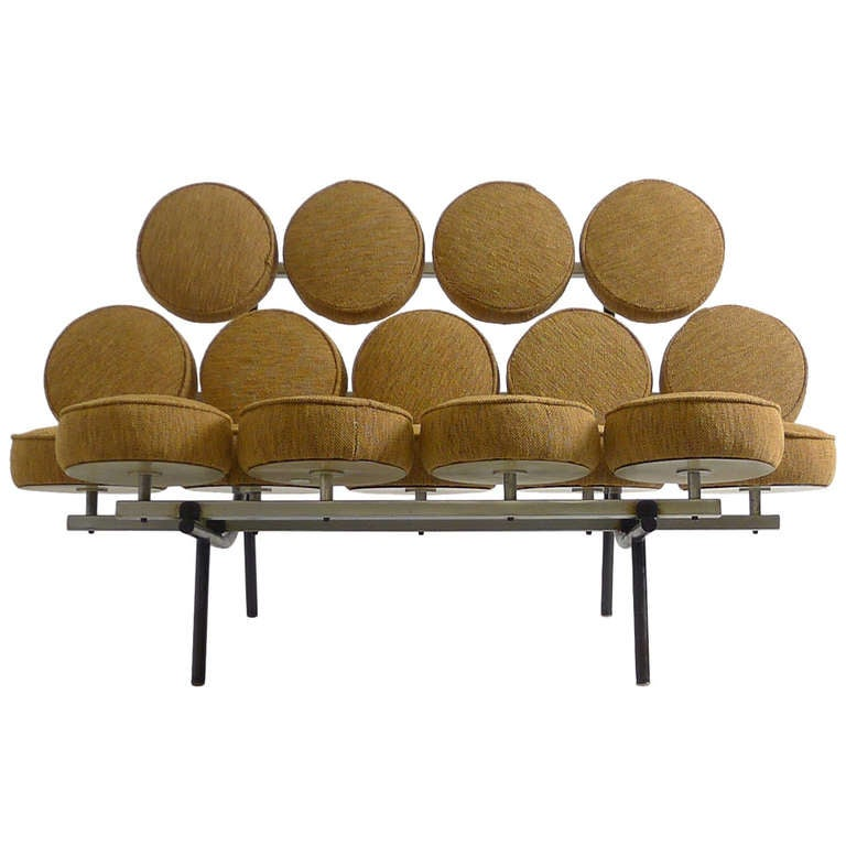 George Nelson Marshmallow Sofa Herman Miller At 1stdibs