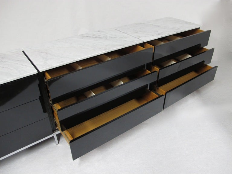 Florence knoll nine drawer dresser by knoll associates at for Knoll associates