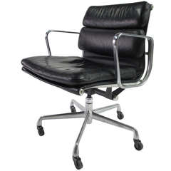 Soft Pad Management Chair Designed by Charles Eames for Herman Miller