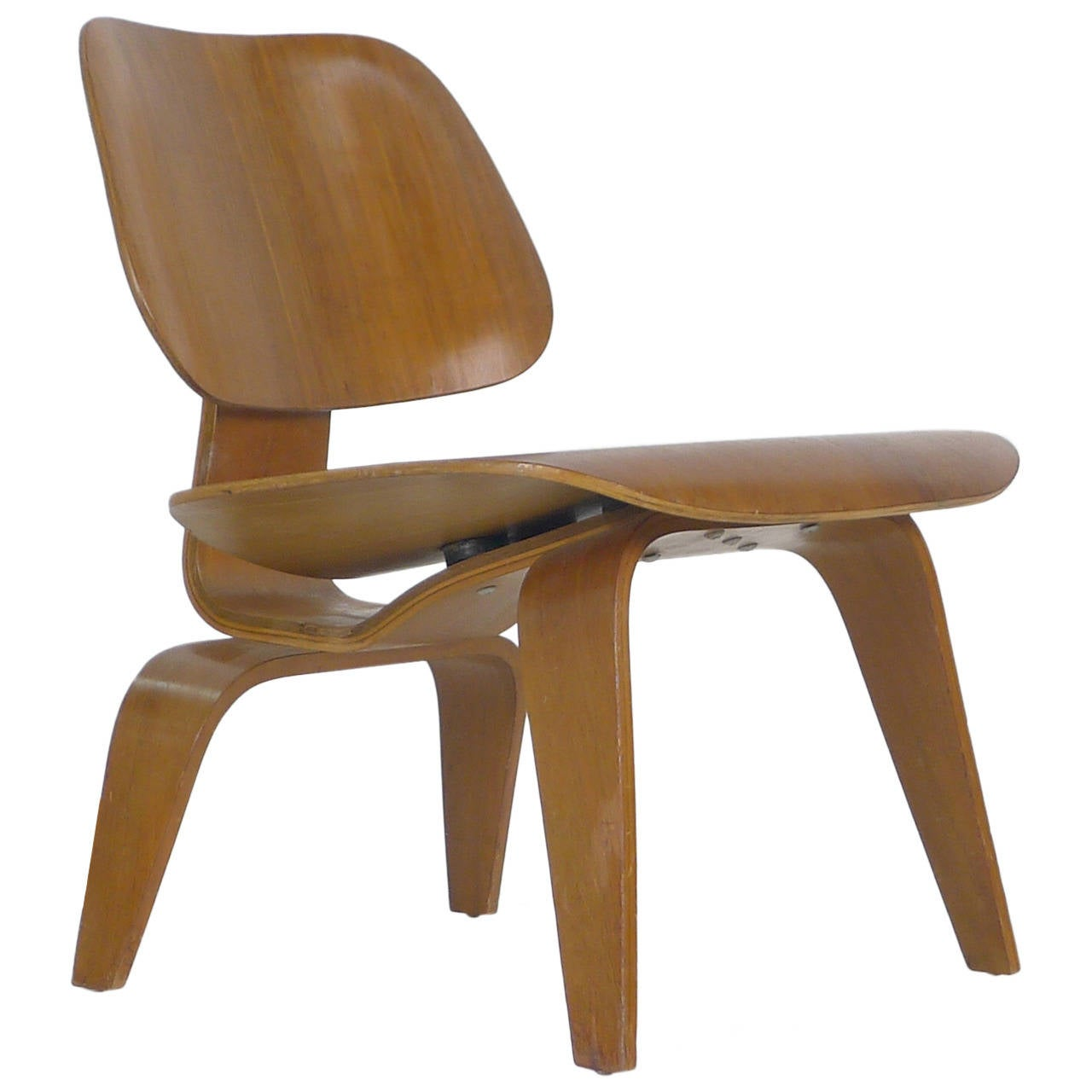 charles eames lounge chair wood lcw at 1stdibs. Black Bedroom Furniture Sets. Home Design Ideas