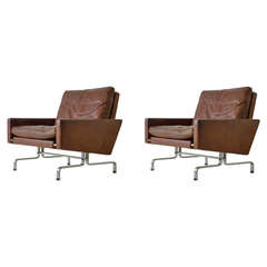 Pair of Poul Kjaerholm PK 31 Chairs