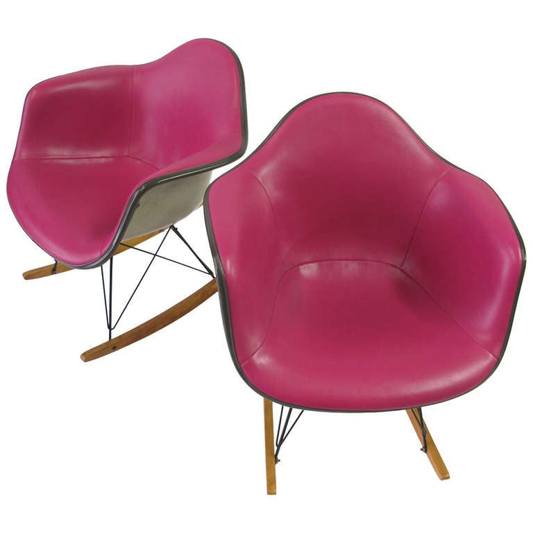 Charles eames rocking chairs at 1stdibs - Rocking chair charles eames ...