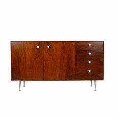 George Nelson ; Rosewood Thin Edge Credenza