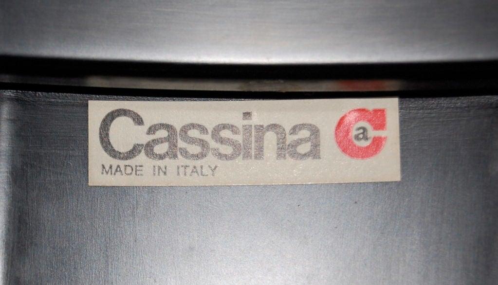 Gianfranco Frattini Nest Of Tables For Cassina 8