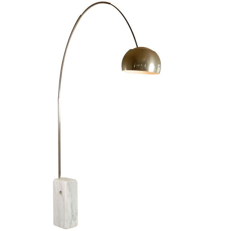 arco lighting. vintage flos arco lamp 1 lighting