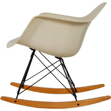 Charles eames rar rocking chair at 1stdibs - Rocking chair charles eames ...