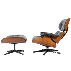 Charles And Ray Eames  ;  Lounge Chair And Ottoman