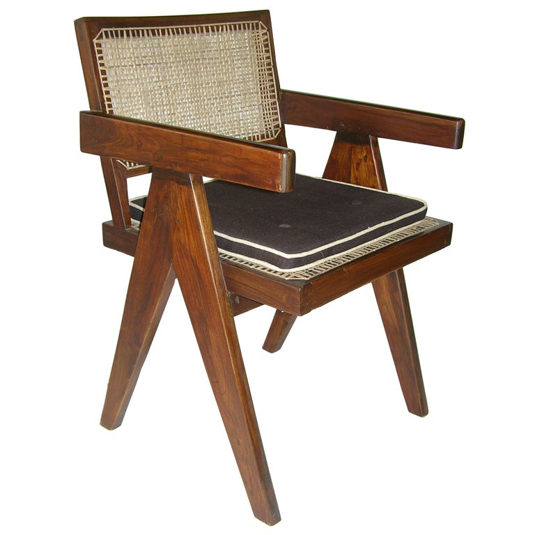 Pierre jeanneret conference chair from chandigarh at stdibs