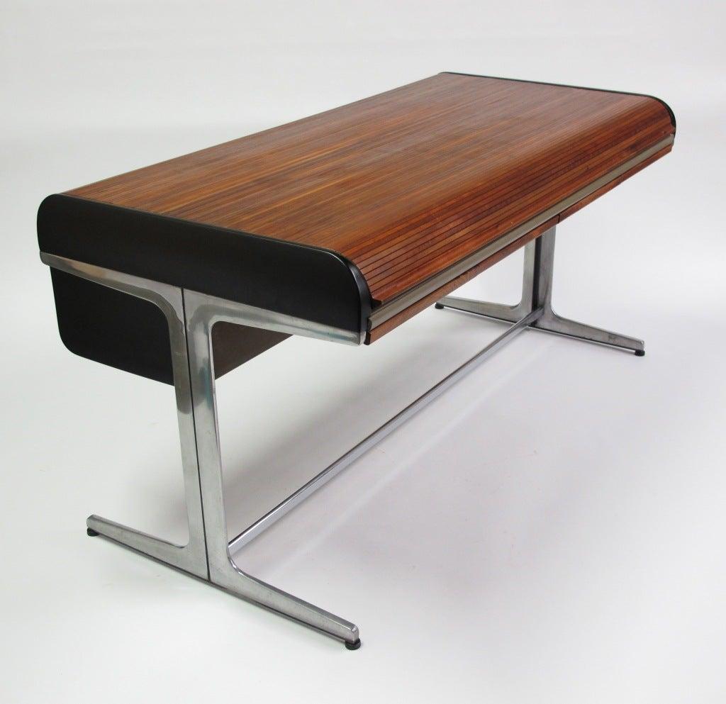 George Nelson Roll Top Desk Herman Miller At 1stdibs
