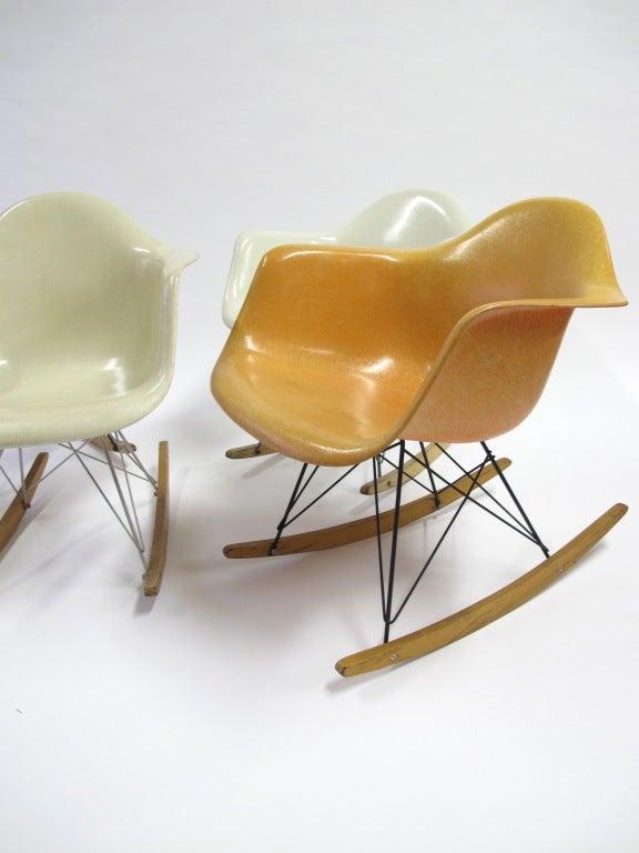 Eames Rocking Chairs, Herman Miller at 1stdibs