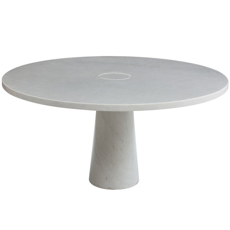 Marble Dining Table By Angelo Mangiarotti At 1stdibs