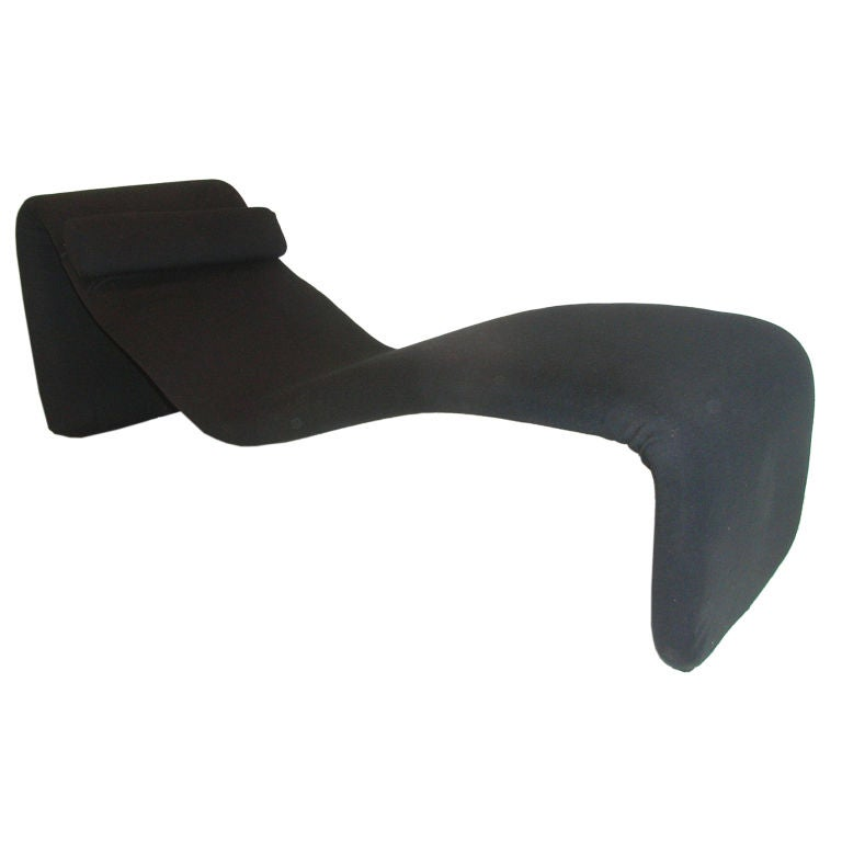 Chaise longue by olivier mourgue model djinn at 1stdibs for Chaise modele